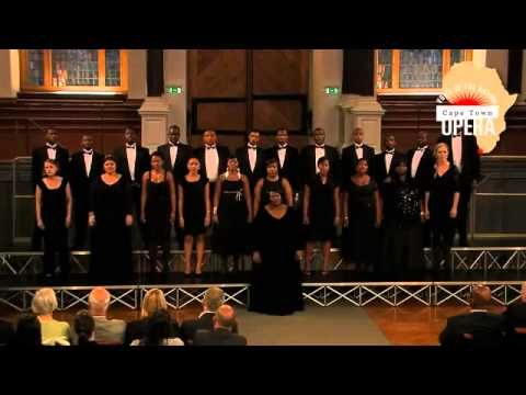 Cape Town Opera's Voice of the Nation Ensemble at the Sheldonian Theatre