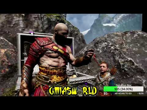 God of War 4 - Kratos Travels to Another Realm, Difficult Challenges (God of War 2018) PS4 Part 11