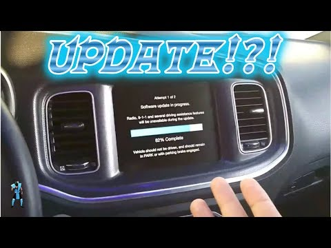 DODGE CHARGER UCONNECT UPDATE!!! IT TOOK FOREVER!