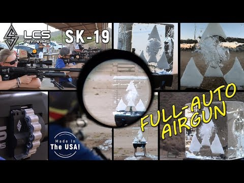 LCS Air Arms SK-19 Full Auto Airgun REVIEW
