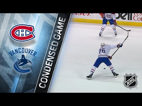 12/19/17 Condensed Game: Canadiens @ Canucks