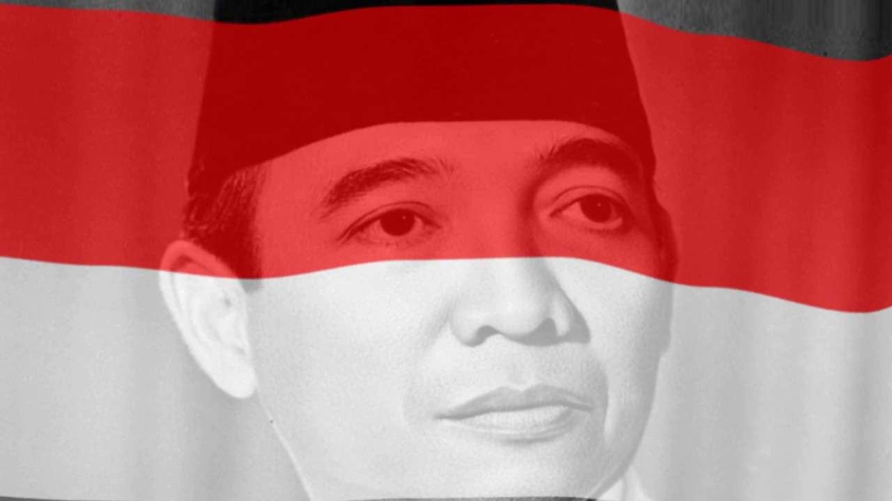 Free Background Animasi Bendera Merah Putih Soekarno 03 Youtube
