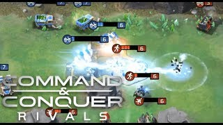 Command And Conquer: Rivals COUNTERING THE TITAN STRATEGY, TIPS
