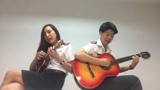 รักแท้มีจริงหรือเปล่า Cover Ukulele + Guitar