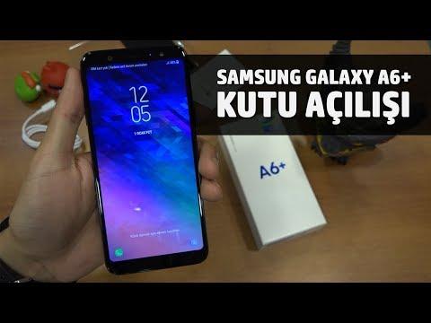 Samsung Galaxy A6+ Kutu Açılışı / Ön İnceleme