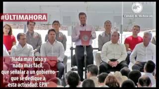Peña Nieto habla sobre el espionaje a periodistas y activistas mexicanos