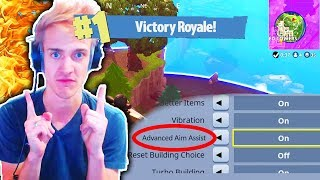 NINJA Gave Me The BEST Settings in Fortnite Battle Royale! (Ninja Best Settings in Fortnite)