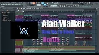 FL Studio Full Song Remake | Alan Walker - Sing Me To Sleep Full Remake + FLP