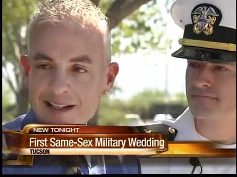 First Same-sex Military Wedding