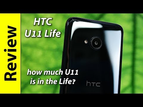 HTC U11 Life (androidone) | how much U11 is in the Life?