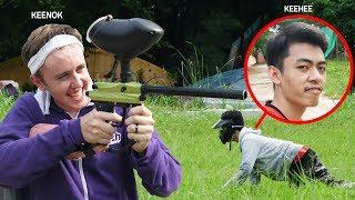 ปิดตายิงปืนเพ้นท์บอล!! เอาคืน UDiEX2!!!!!