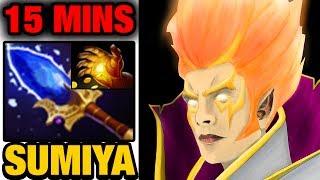 SUMiYa Invoker Dota 2 - Scepter and Midas at 15 Minutes Mark