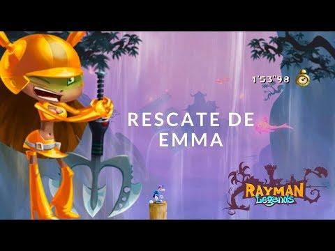 Rayman Legends – Rescate de Emma   Nivel para desbloquear el personaje   Guía