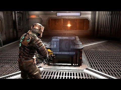 Let's Play Dead Space #08 - Zero G combat and ship repairs