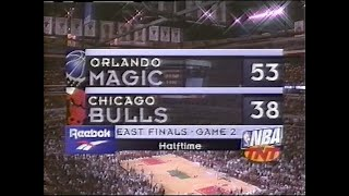1996 Eastern Conference Finals Game 2 (full TV broadcast) + League MVP Award