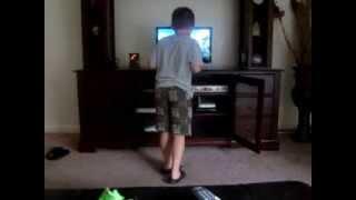 Skyler's potty dance