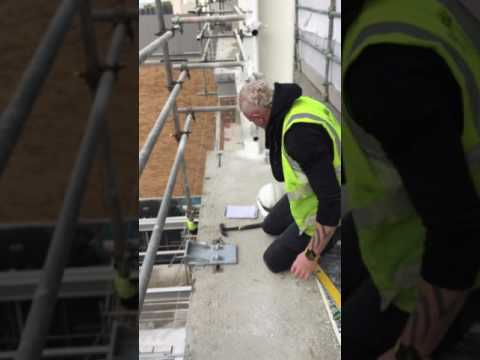 Fitting Brackets For Unitized Curtain Wall Youtube