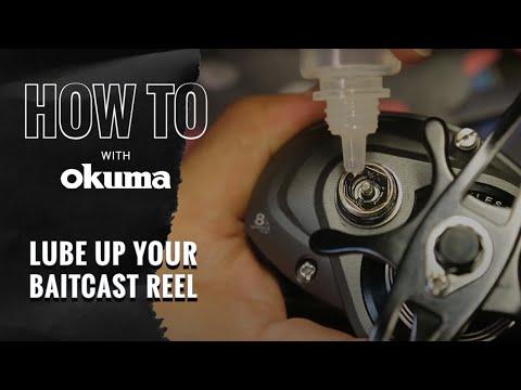 Okuma How To-  Lubricate Your Baitcast Reel