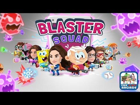 Blaster Squad - SpongeBob BlasterPants Taking It To The Viruses (Nickelodeon Games)