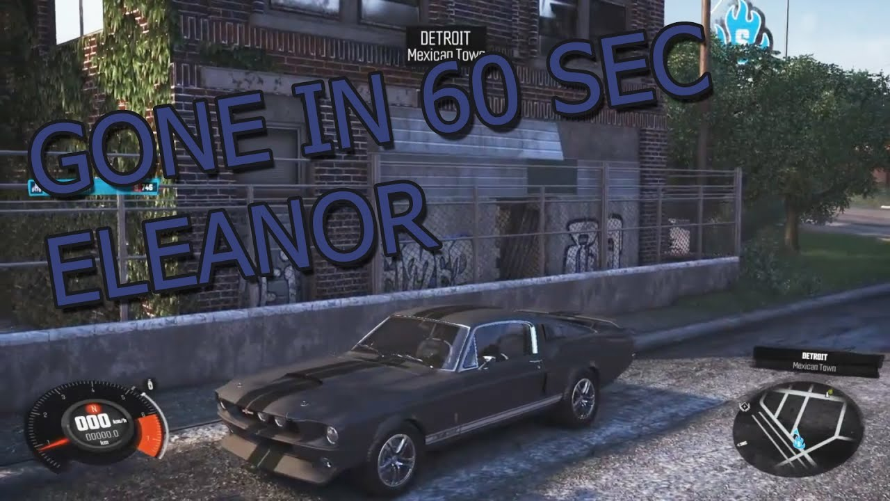 The Crew Shelby Mustang - Making Gone in 60 seconds car - YouTube