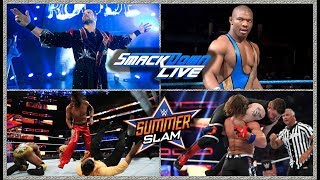 wwe smack downs 22/1/19 highlights