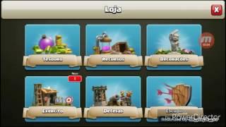 Novo jogo pró canal que é clash of clans (vitor)