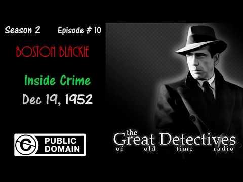 Boston Blackie: Inside Crime (Public Domain Video Theater)