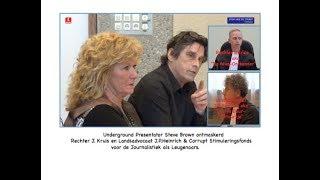 Steve Brown ontmaskert tijdens rechtszitting Rechter Kruis & Landsadvocaat&SvdJ als Leugenaars.
