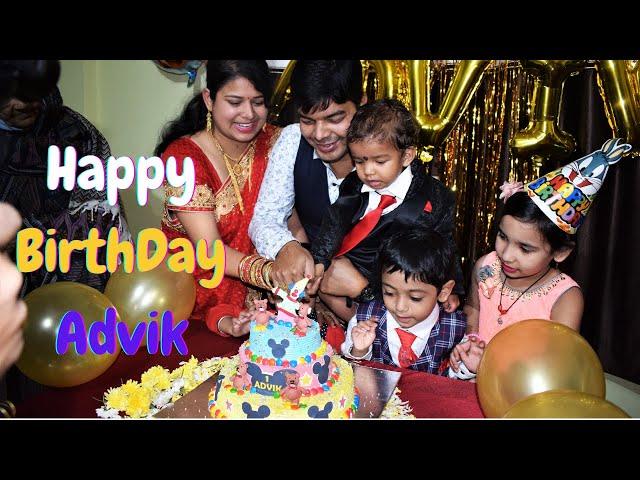 Advik Birthday Celebration | Vlog #LearnWithPari