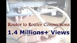 How to connect a router to a router(More information: http://fixhomenetwork.com/blog/how-to-connect-router-to-router/ Easy steps to connect router to another router. Type 1: LAN-LAN connection ..., 2012-02-01T12:26:08.000Z)
