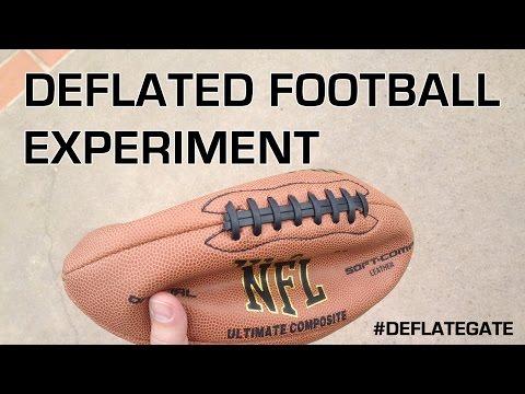 Deflated Football Experiment : Deflate-Gate : Who Cares!?