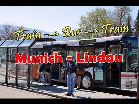 [เที่ยวยุโรป] Traveling from munich to Lindau - Train, Bus, Train : Germany Travel Vlog Ep65