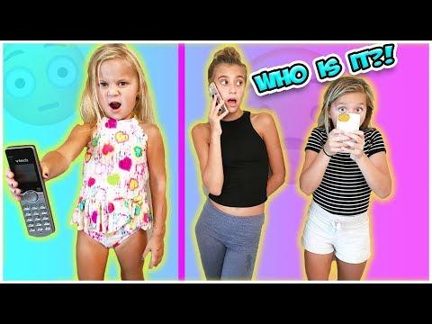 GIRLS MAKE PRANK CALLS!! PARENTS SAY NO TO STRANGER DANGER
