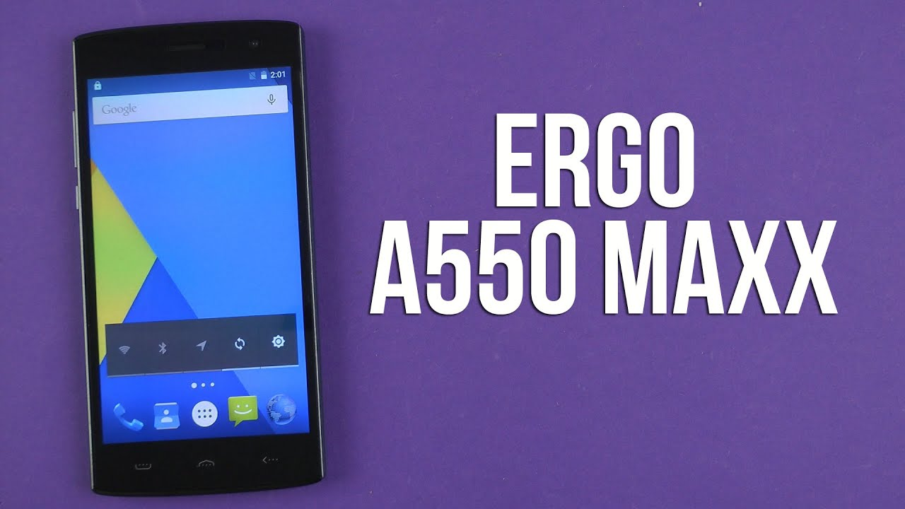 Обзор Ergo A553 Power - YouTube