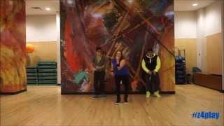 """Nota de Amor"" by Wisin & Carlos Vives Ft. Daddy Yankee - Zumba ® Fitness Choreograhpy"