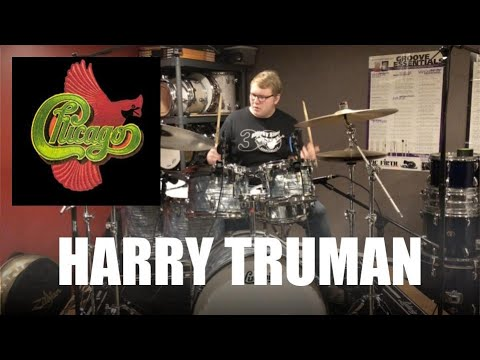 Drum Cover Harry Truman By Chicago Youtube