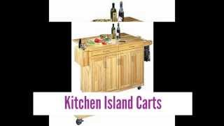 Lovely Kitchen Island Carts