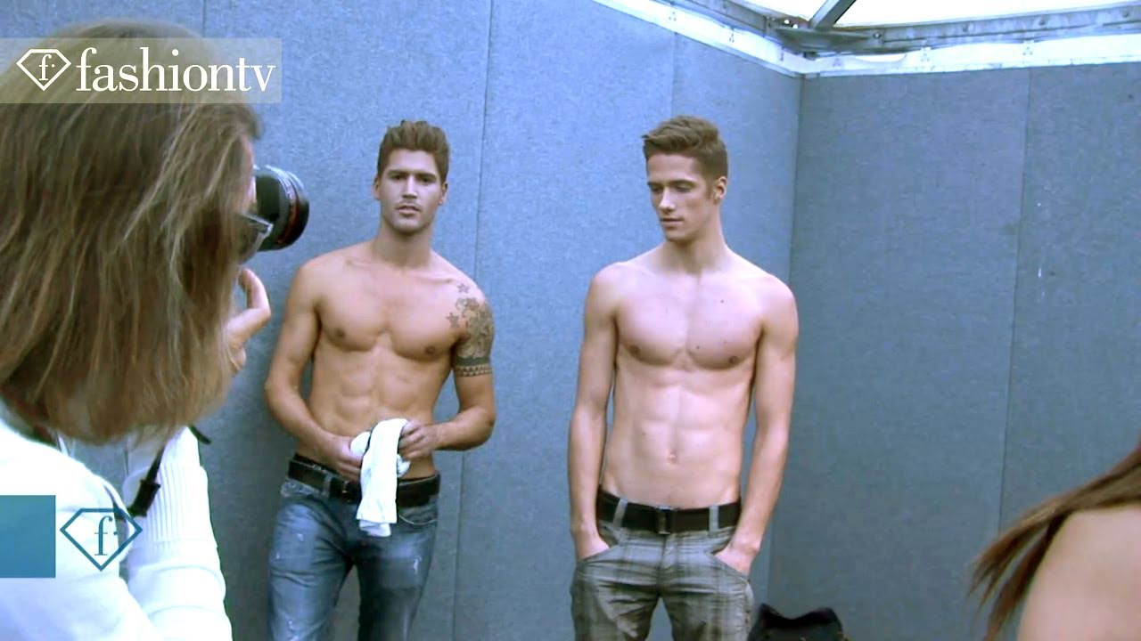 Felix Badman - Sexy Male Models 5 ft Calvin Klein + Ferragamo @ Men's Fashion Week | FashionTV