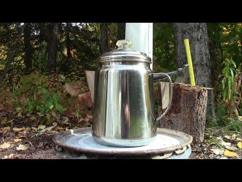 Make A Hot Tent Wood Stove