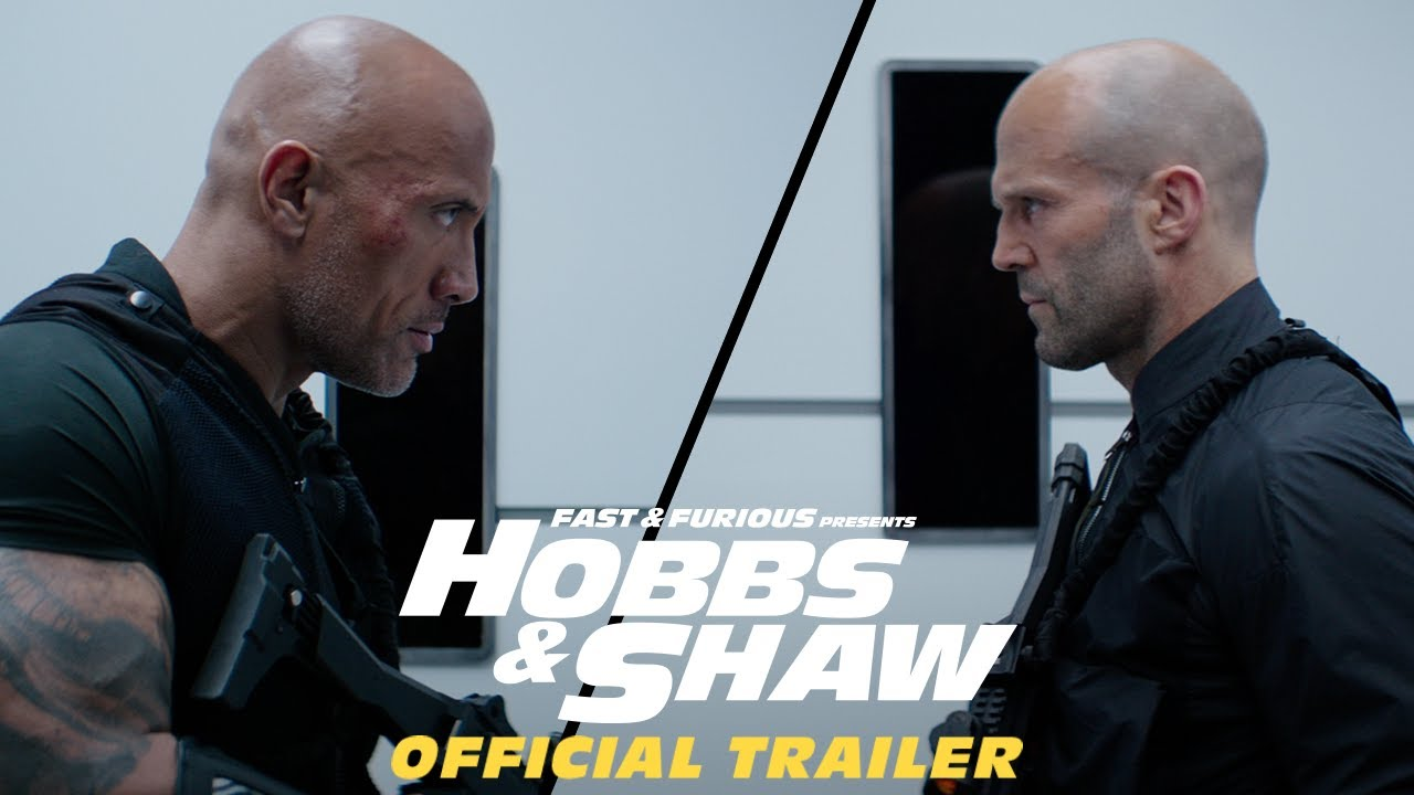 Fast & Furious Presents: Hobbs & Shaw releases today