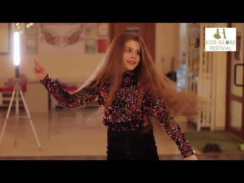 Finalist Queens Globe Festival 2019. Shapovaliuk Daryna 10 years old. Ukraine Tirnopol