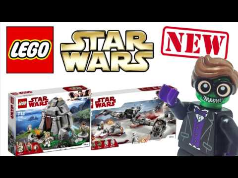 NEW Lego Star Wars The Last Jedi Set 2018 Official Images! - YouTube