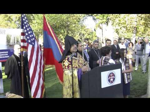 Groundbreaking Armenian Genocide Monument Fresno