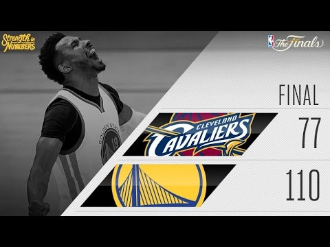 NBA Finals: Warriors Dominate Cavs, Take 2-0 Series Lead