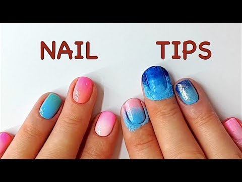 Nail Hacks: How to Ombre Nails Design