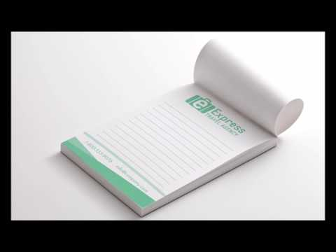 Notepad printing | Cheap Notepads printing | Print East