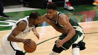 Every Bucket: Giannis Antetokounmpo Goes Off For 49 Points Against KD, Kyrie and the Nets | 5.2.21