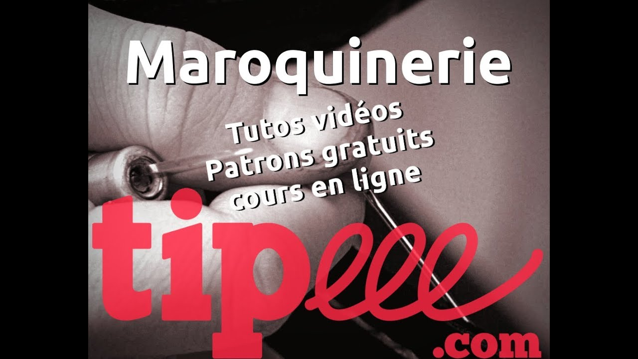 Tutos et cours de maroquinerie : financement participatif ! - YouTube