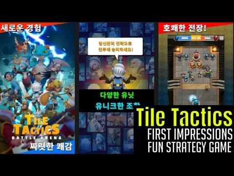 Tile Tactics - Battle Arena/First Impressions/Is It Legit/Fun Tactics Game |