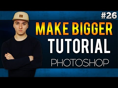 Adobe Photoshop CC: How To Make A Picture Bigger EASILY! - Tutorial ...